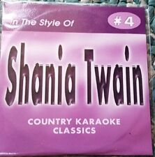SHANIA TWAIN CDG KARAOKE COUNTRY CLASSICS CKC #4 CD+G NEW MUSIC 17 SONGS