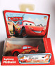 Disney Pixar Cars Lightning McQueen Pullbax Motor with Speed and Spin Action