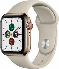 Nuevo En Caja Apple Watch Serie 5 Gps + Celular 44mm Aluminio/Acero Inoxidable