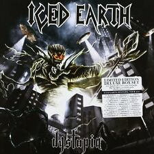 Iced Earth - Dystopia: Limited Boxset buckle ligher wrist band and more