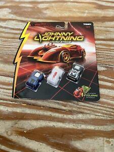 """Johnny Lightning """"WHITE LIGHTNING"""" Micro Strike 3pack moc"""
