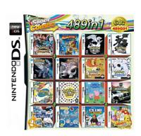 489 in 1 MULTI CART Super Combo Video Games Cartridge Card Cart for Nintendo DS