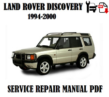 Land Rover Discovery 1994..1996 1997 1998 1999 2000 Service Repair Manual PDF