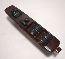 98-02 LIMITED TOYOTA 4RUNNER FRONT LEFT DRIVER MASTER POWER WINDOW SWITCH WOOD