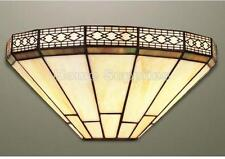 Mission Tiffany Style Handcrafted Glass Wall Light