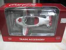 K LINE COCA COLA #K-94506 RED & WHITE PEDAL BI-PLANE TRAIN ACCESSORY - NIB