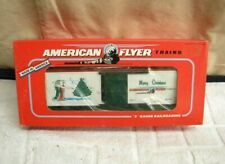 American Flyer by Lionel #6-48325 1996 AF Holiday Boxcar