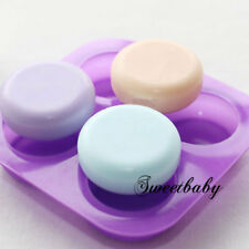 Silicone Round Circle Cake Chocolate Cookie Fondant Clay Paste Sugar Soap Molds