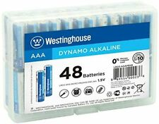 [Pk-48] Westinghouse Alkaline AAA Batteries Lasting Power for High Drain Devices