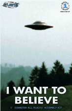 "Atlantis I Want To Believe UFO 494  5"" PLASTIC MODEL KIT 1008"