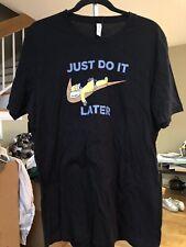 Homer Just Do It Shirt XL Black