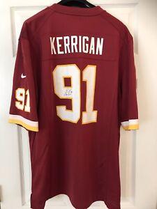 Ryan Kerrigan Autograph Washington Football Team Redskins On-Field Nike Jersey