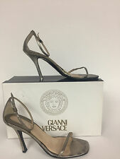 3f2d4b9bd Versace Brunzo Stiletto Leather heel with detail size 71 2
