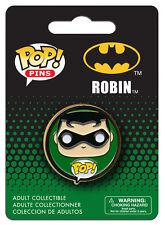 OFFICIAL DC COMICS BATMAN: ROBIN POP! HEROES PIN BADGE (NEW)