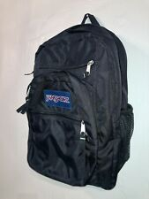 JANSPORT Big Student Backpack In BLACK - New Condition
