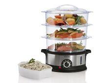 SILVERCREST® Dampfgarer SDG 800 B2 inkl. Dampfaufsätze Küchen Maschine NEU OVP
