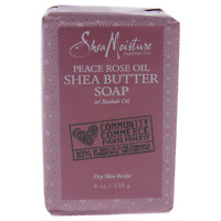 SheaMoisture Peace Rose Oil Shea Butter Soap - Dry Skin 8 oz