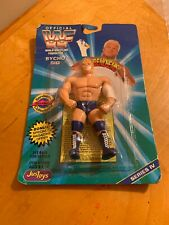 "SYCHO SID VICIOUS - WWE WWF JUST TOYS Series 4 BENDIES 5"" Action Figure P2"