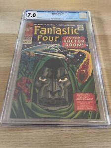Fantastic Four 57 CGC 7.0 OW/WHITE