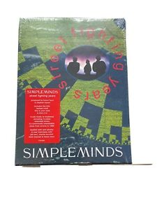 Simple Minds - Street Fighting Years (Limited Edition) 4-CD Boxset - Rarität -