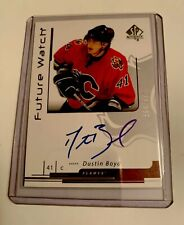 "SP Authentic"" Future Watch, Autograph, Dustin Boyd, Flames, #169, N/M Condition"