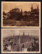 107941 2 AK Frauenburg Kr. Braunsberg Dom 1917