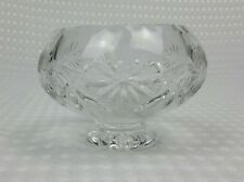 Beautiful Cut Glass Bowl On Pedestal Bon Bon Dish