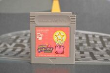 KIRBY DOESN'T KIRAKIRA KIDS KIRBY'S STAR STACKER GAME BOY JAP JP JPN GB GAMEBOY