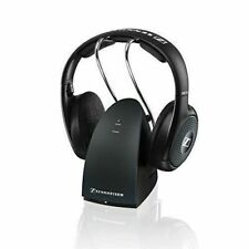 Sennheiser RS 135 Over the Ear Wireless Headphones open box - black
