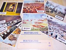 WATERLOO napoleon !  jeu 20 photos cinema lobby cards