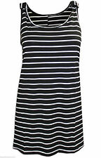 Evans Women's Plus Size Vest Top, Strappy, Cami Sleeveless Tops & Shirts