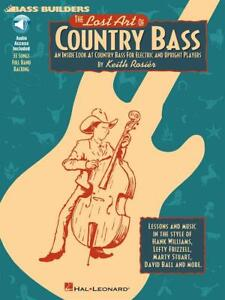 The Lost Art Of Country Bass  Bass Guitar  Book with Audio-Online HL00695107