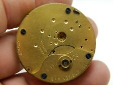 Antique Pocket watch movement Illinois IWCO Key wind lever set for parts/repair