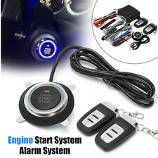 Engine Start Car One Button Vibration Alarm System Security Ignition Push Remote