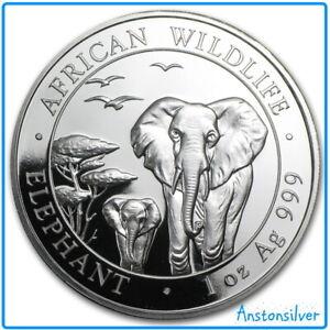 2015 BU Somalia Elephant - .999 Silver - Encapsulated