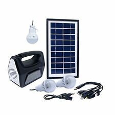 3.5W Solar Generator System Portable Kit Power Inverter for Camping Home Outdoor