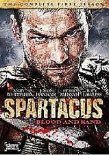 SPARTACUS: BLOOD & SAND SERIES ONE/GODS OF THE ARE NEW DVD