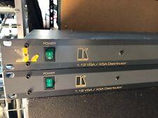 "KRAMER HAMA VP12XL VGA XGA Verteiler Distributor 1:12 19"""