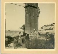 Tunisie, Enfidha (النفيضة), Arc de Triomphe d'Aphrodisium  Vintage print.