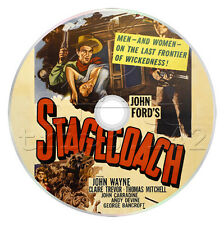 Stagecoach (1939) John Wayne Adventure, Western Film / Movie on DVD