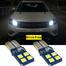 Pair XENON Whites LED Cars Side Light Parking Beam 8SMD Bulbs For Seat Ibiza MK2