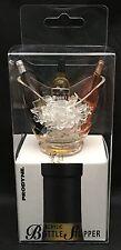 Prodyne Acrylic Bottle Stopper Wine Bottles In Ice Bucket Vino Gondola A-877-G