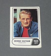 A & BC GUM CARD FOOTBALL ENGLAND 1969 GEORGE EASTHAM STOKE CITY POTTERS