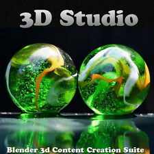 Blender Pro 3D Graphics Design Animation Studio for Win/Mac/Linux Video Tutorial