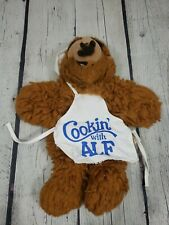 """ALF 1988 Alien Productions 10"""" Hand Puppet Plush Vintage Toy Brown Fuzzy"""