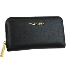 Valentino Giunsa Lady Zip Around Wallet Nero