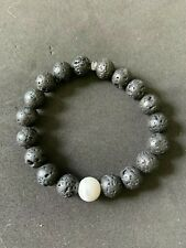 Black Ying and Yang Bracelet