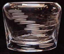 Rosenthal Crystal Modern Pillow Shaped Vase