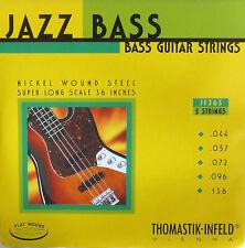 Thomastik-Infeld JF365 T-I Jazz Flatwound Bass Guitar Strings - Super Long Scale
