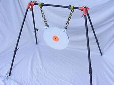 TommyGun Gong Target Stand AR500 1/2X12 Rifle Pistol Shooting Metal Steel Range